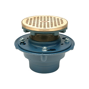 Finish Floor-Shower Drains